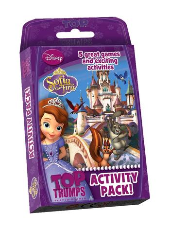 View Item Top Trumps - Sofia the First Activity Pack