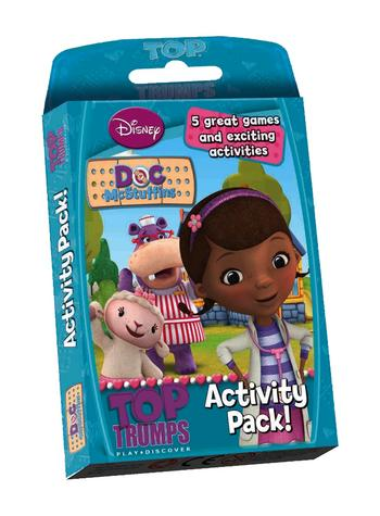 Top Trumps - Doc McStuffins Activity Pack Preview