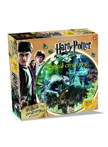Harry Potter Magical Creatures 500 Piece Jigsaw Puzzle Preview