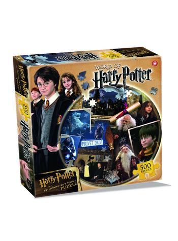 Harry Potter Philosophers Stone 500 Piece Jigsaw Puzzle Preview