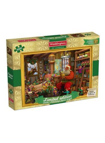 View Item Waddingtons Christmas Jigsaw Puzzle 1000 piece - 2014 Edition