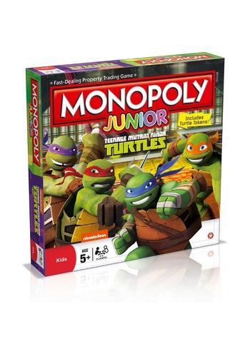View Item Junior Monopoly - Teenage Mutant Ninja Turtles