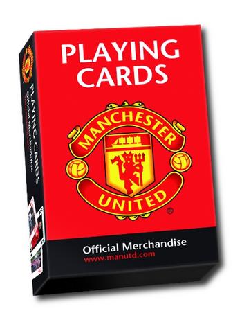 View Item Manchester United Playing Cards - 2013 edition