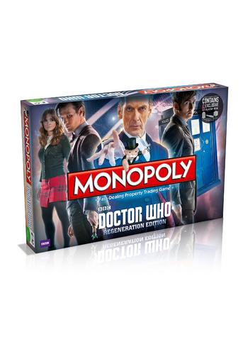View Item Monopoly - Doctor Who Regeneration Edition