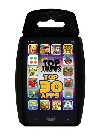 View Item Top Trumps - 30 Top Apps