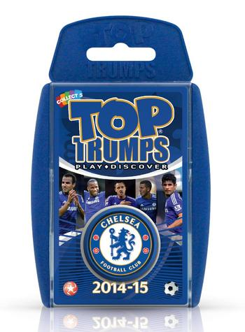 View Item Top Trumps - Chelsea FC 2014/15
