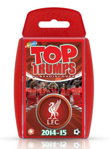 View Item Top Trumps - Liverpool FC 2014/15