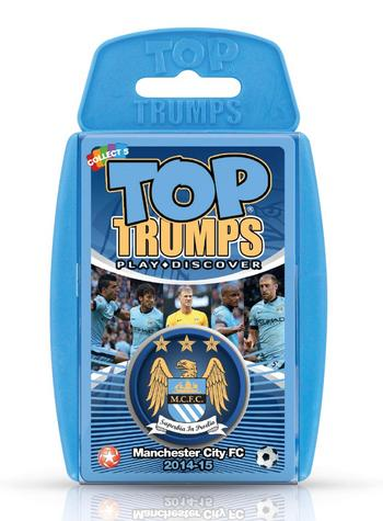 View Item Top Trumps - Manchester City FC 2014/15