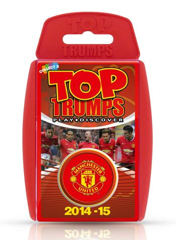 View Item Top Trumps - Manchester United FC 2014/15