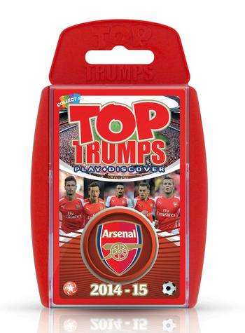 View Item Top Trumps - Arsenal FC 2014/15