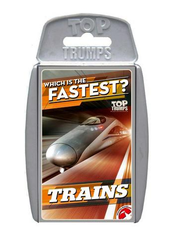View Item Top Trumps - Trains
