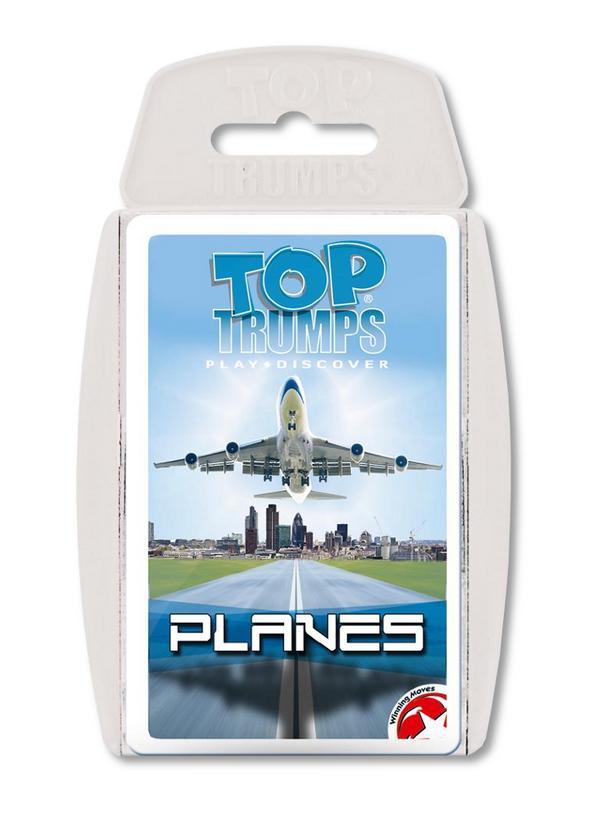 Top Trumps Planes Winning Moves Shop