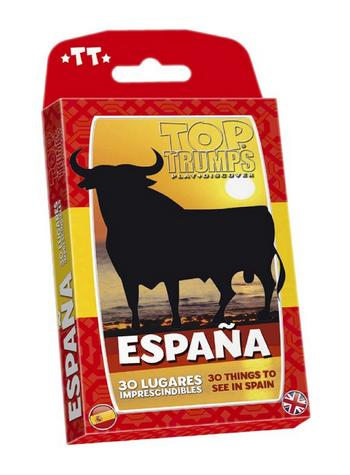 Top Trumps - Espana: 30 Things to see in Spain Preview