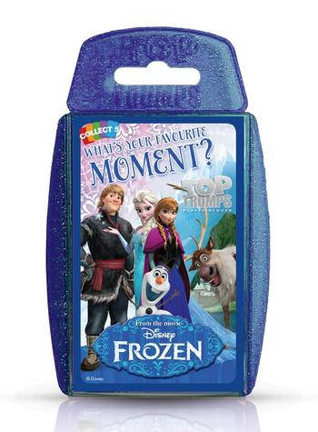 View Item Top Trumps - Disney Frozen Moments Card Game