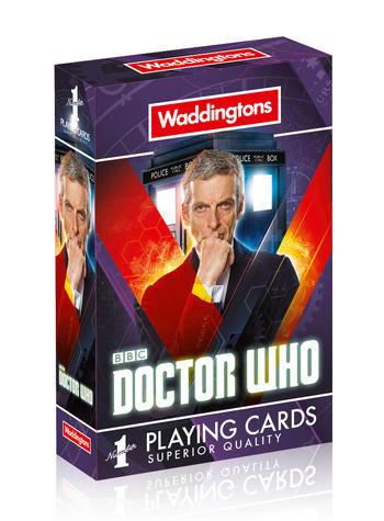 Doctor Who Playing Cards Preview