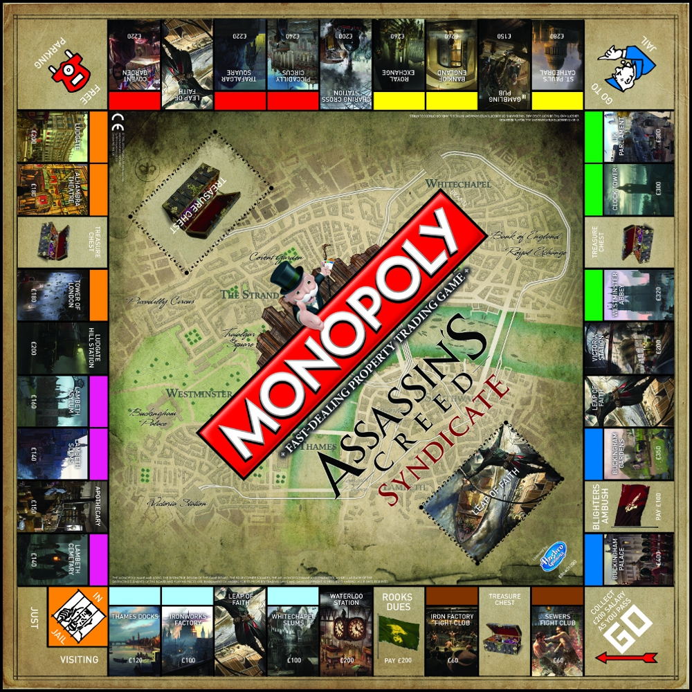 Monopoly - Assassins Creed Syndicate | eBay