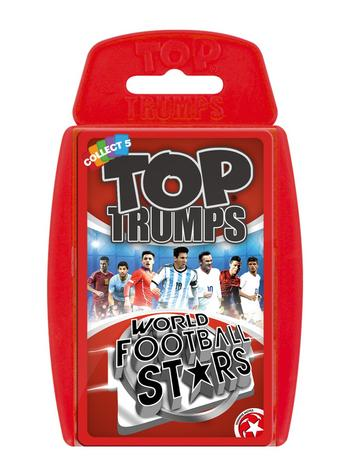 Top Trumps - World Football Stars 2016 Preview