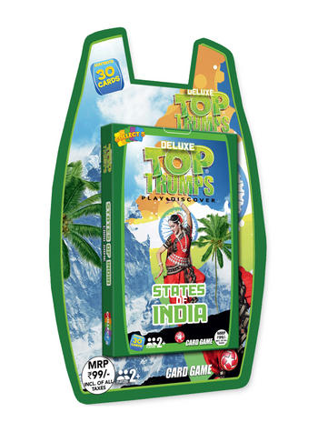 Top Trumps - States of India Card Game Preview