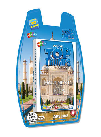 Top Trumps - Monuments of India Card Game Preview
