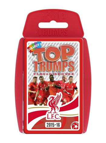 View Item Top Trumps - Liverpool FC 2015-16