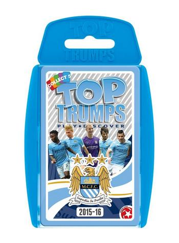 View Item Top Trumps - Manchester City FC 2015-16