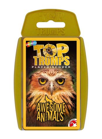 View Item Top Trumps - Awesome Animals Card Game
