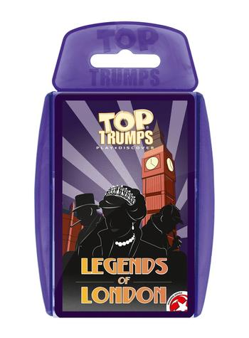 Top Trumps - Legends of London Card Game Preview