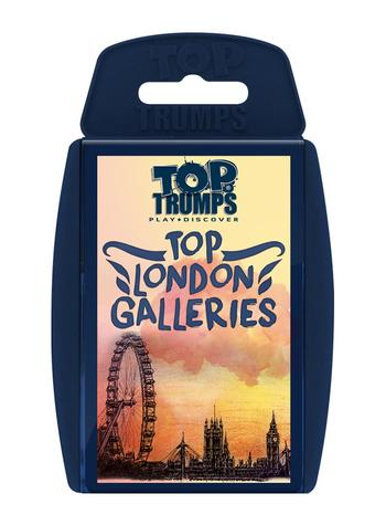Top Trumps - Top London Galleries Card Game Preview