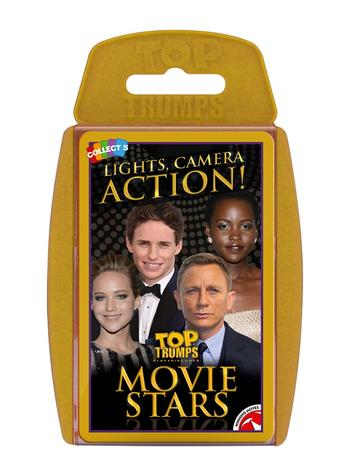 Top Trumps - Movie Stars Card Game Preview