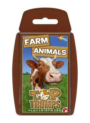 Top Trumps - Farm Animals Card Game Preview
