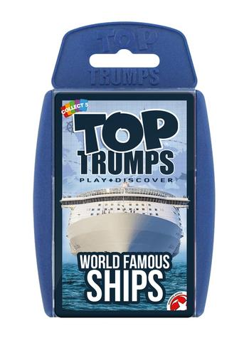 View Item Top Trumps - World Famous Ships Card Game