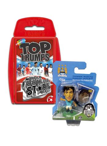 View Item Top Trumps World Football Stars 2016 & Soccerstarz - Man City David Silva