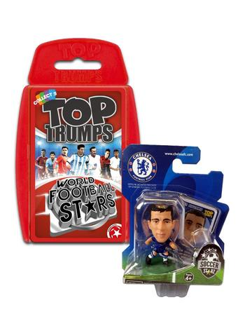 View Item Top Trumps World Football Stars 2016 & Soccerstarz - Chelsea Eden Hazard