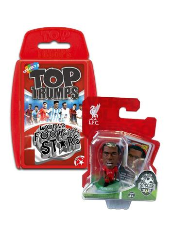View Item Top Trumps World Football Stars 2016 & Soccerstarz - Liverpool Daniel Sturridge