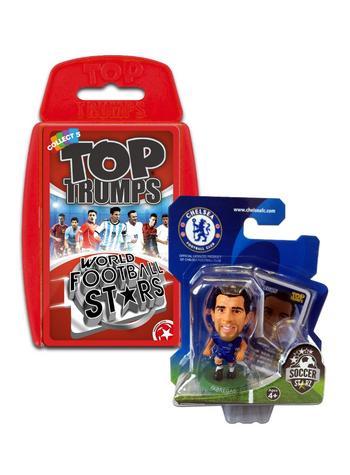 View Item Top Trumps World Football Stars 2016 & Soccerstarz - Chelsea FC Cesc Fabregas