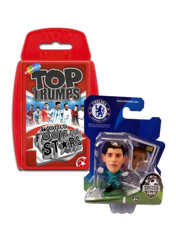 View Item Top Trumps World Football Stars 2016 & Soccerstarz - Chelsea FC Thibaut Courtois