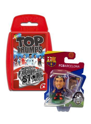 View Item Top Trumps World Football Stars 2016 & Soccerstarz - Barcelona Luis Suarez