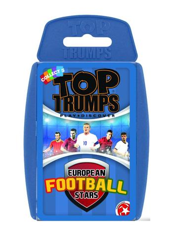 Top Trumps - European Football Stars 2016 Preview