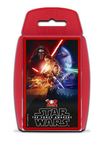 Top Trumps - Star Wars The Force Awakens Preview