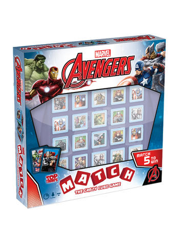 Top Trumps Match - Marvel Avengers Preview