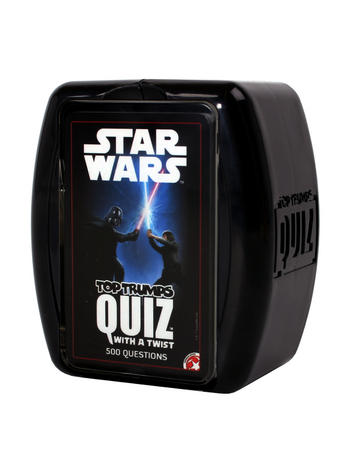 Star Wars Top Trumps Quiz game. Preview