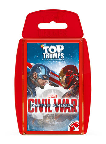 View Item Top Trumps - Captain America Civil War