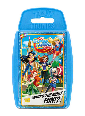 Top Trumps - DC SuperHero Girls Preview