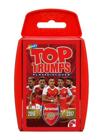 View Item Top Trumps - Arsenal FC 2016-17