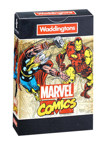 Marvel Comics Retro Playing Cards Preview