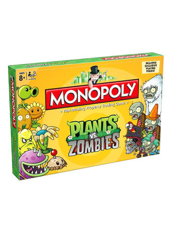 Monopoly - Plants Vs Zombies Preview