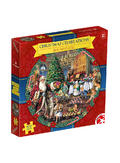 View Item Waddingtons Christmas Celebrations 500 Piece Round  Jigsaw Puzzle