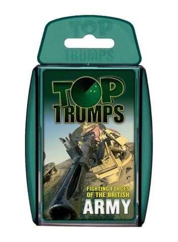 View Item Top Trumps - British Army