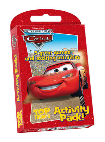 View Item Top Trumps - Cars Activity Pack