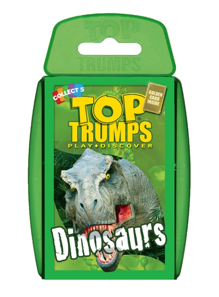 Top Trumps - Dinosaurs (New Edition) Enlarged Preview